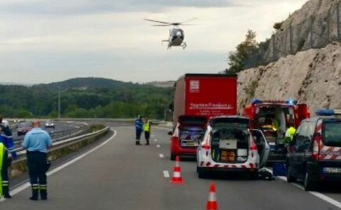 Photo of ROQUEMAURE Appel à témoins après l'accident mortel sur l'autoroute A9