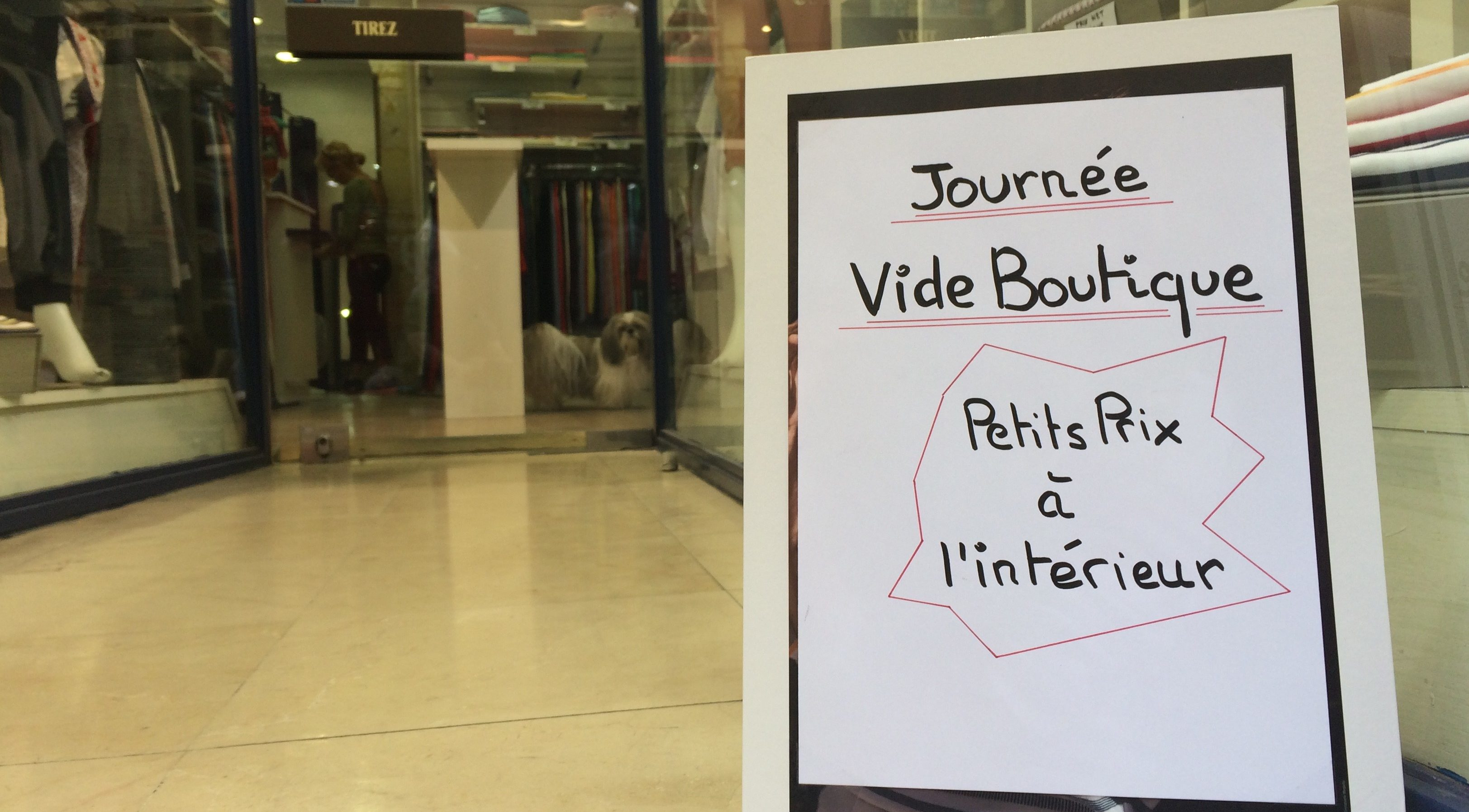 Photo of NÎMES Le vide boutique… Le vide sidéral