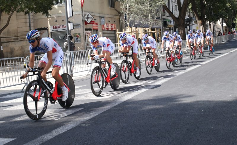 Les Français de la FDJ (Photo Anthony Maurin).