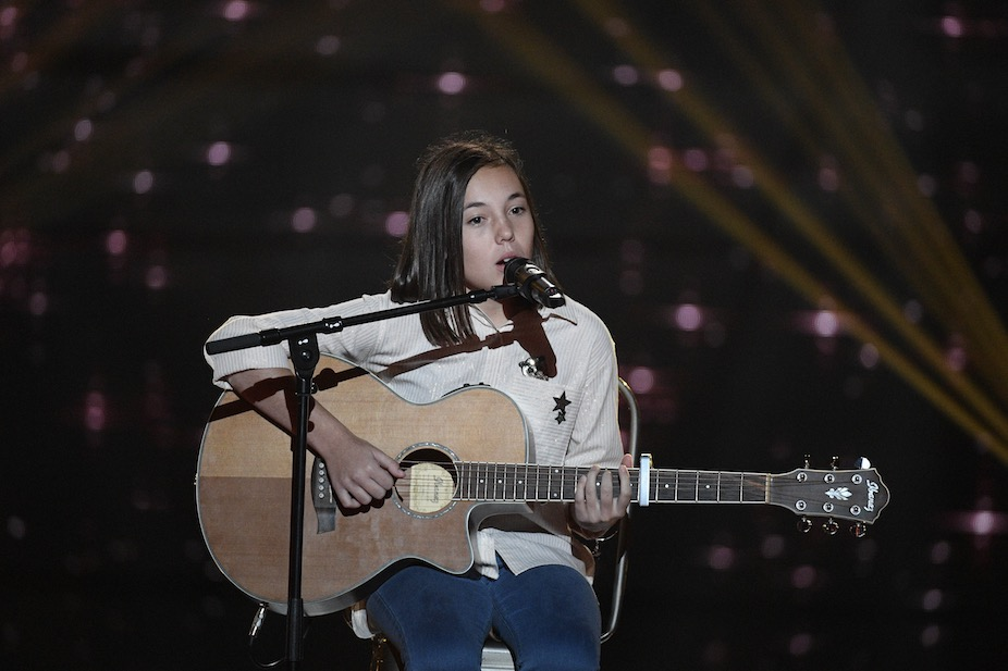 Photo of TÉLÉVISION La Gardoise Pauline participe à The Voice Kids 2017 sur TF1