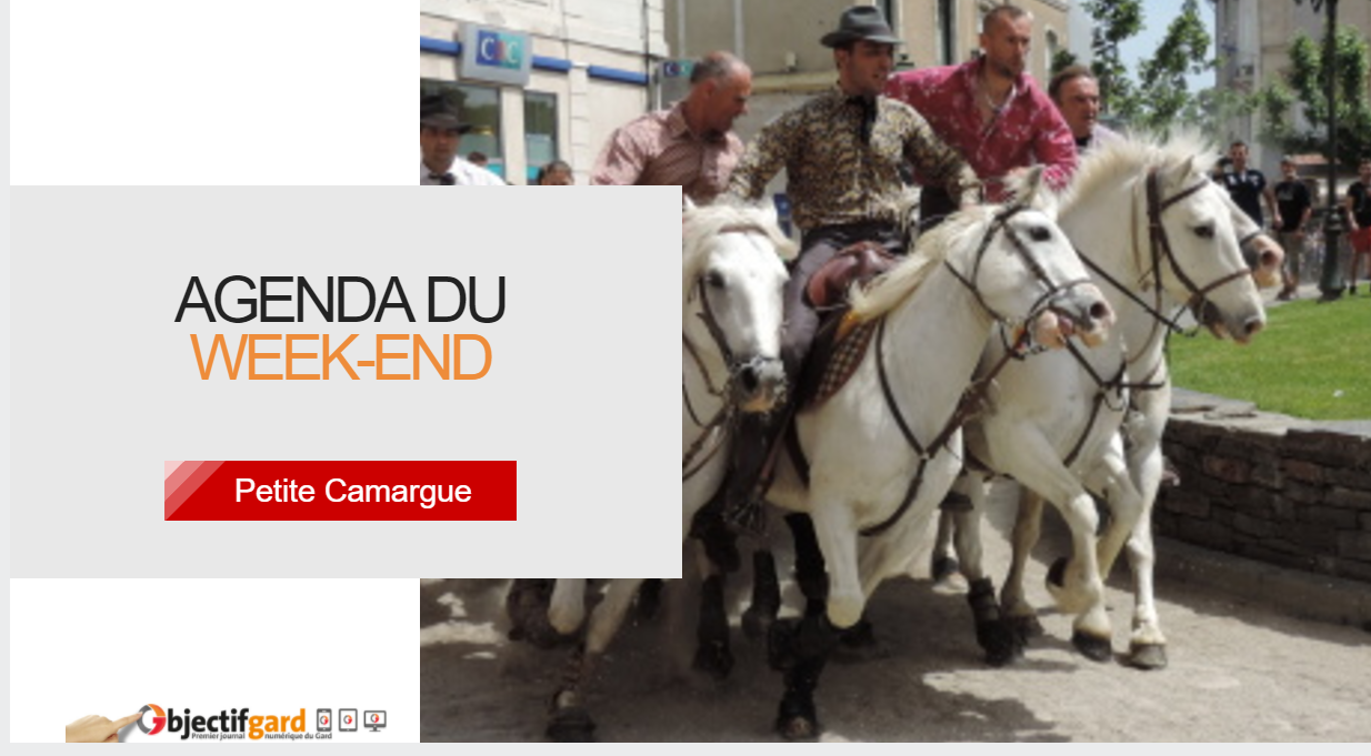 Photo of [PETITE CAMARGUE & VAUVERT] Sorties et bons plans, du 22 au 24 septembre 2017