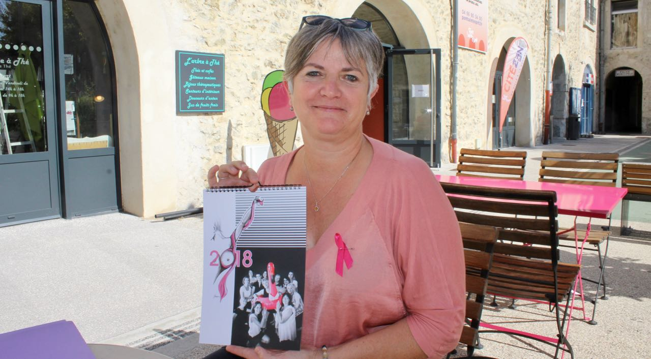 Photo of PONT-ST-ESPRIT Octobre rose : un calendrier pour aider la Ligue contre le cancer