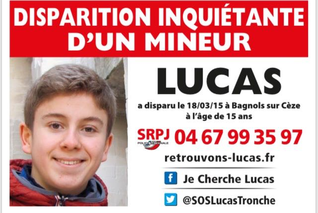 Photo of BAGNOLS Retrouvons Lucas distribue 10 000 avis de recherche autocollants