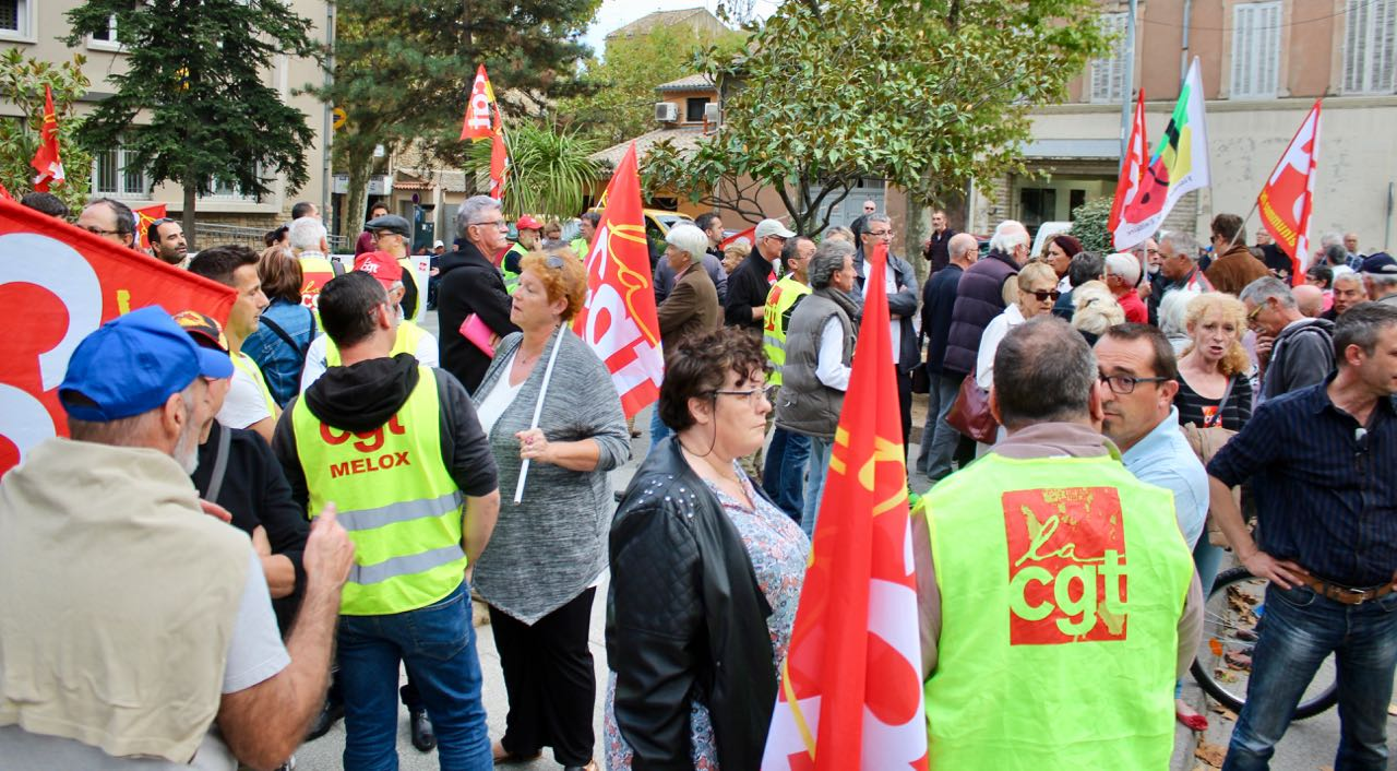 Photo of BAGNOLS Ordonnances : la mobilisation s'essouffle mais se poursuit