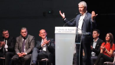 Photo of LES RÉPUBLICAINS Wauquiez, Bellamy, Proust… en meeting à Nîmes