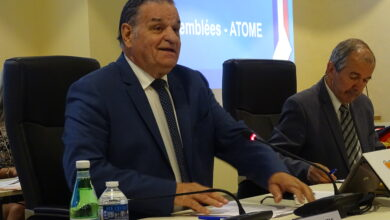 Photo of ALÈS Max Roustan officiellement réélu