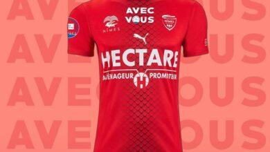 Photo of NÎMES OLYMPIQUE Un maillot collector au profit du CHU de Caremeau