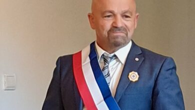 Photo of SAINT-BONNET-DU-GARD Le maire Jean-Marie Moulin et ses adjoints ont été élus