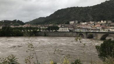 Photo of VIDÉOS Le Gardon d'Anduze en crue