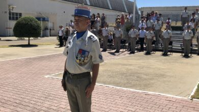 Photo of NÎMES Le colonel Florent Khing prend les rênes du 4e RMAT