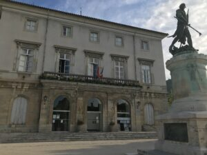 Mairie du Vigan. Photo Tony Duret / Objectif Gard