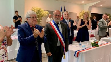Photo of BAGNOLS/CÈZE Jean-Yves Chapelet officiellement élu maire