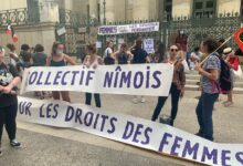 Photo of NÎMES Manifestation devant le palais de justice contre la nomination de deux ministres