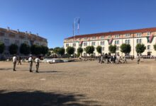 Photo of NÎMES Passation de commandement au 2e REI
