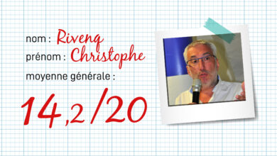 Photo of RENTRÉE Le bulletin de notes 2019-2020 de Christophe Rivenq