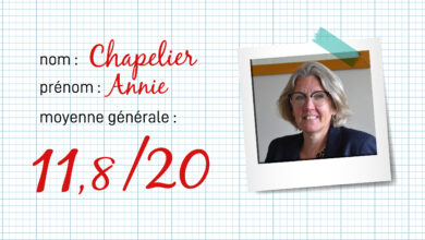 Photo of RENTRÉE Le bulletin de notes 2019-2020 d'Annie Chapelier