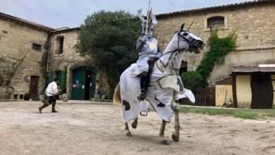 Photo of BEAUCAIRE Au Vieux Mas : Guelinca a remporté son duel face au chevalier Licorne