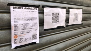 Photo of NÎMES Commerçants : un « merci Amazon » ironique pour pousser à consommer local
