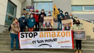 Photo of BAGNOLS/CÈZE Les opposants au projet Amazon de Fournès rencontrent le député Cellier