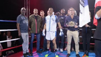 Photo of VAUVERT Le boxeur Mohamed Kani conserve sa ceinture nationale