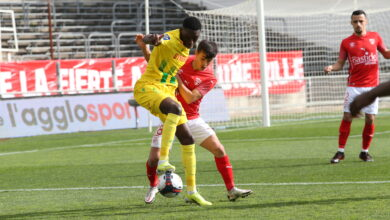 Photo of NÎMES OLYMPIQUE Les Crocodiles ralentis par les Canaris