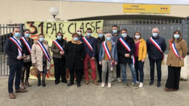 Photo of SAINT-GÉNIES-DE-MALGOIRÈS Suppression d'une classe de 3e : parents et élus disent non !